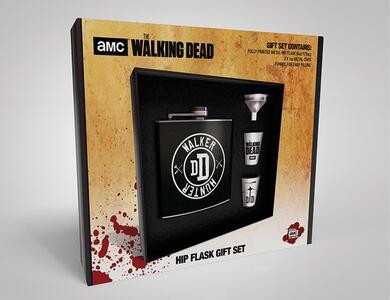 Set Fiaschetta+Bicchieri The. Walker Hunter Walking Dead