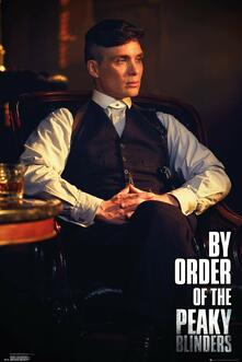 Poster Maxi 61x91,5 Cm Peaky Blinders. By Order Of The