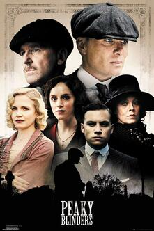 Poster Maxi 61x91,5 Cm Peaky Blinders. Cast