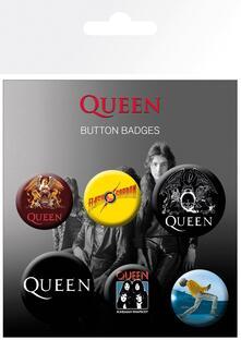 Badge Pack Queen. Mix
