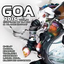 Goa 2014 vol.4 - CD Audio