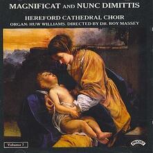 Magnificat & Nunc Dimittis vol.7 - CD Audio di Huw Williams,Roy Massey,Herbert Sumsion
