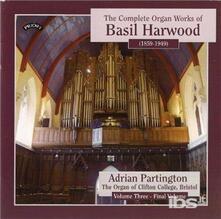 Musica per Organo vol.3 - CD Audio di Basil Harwood