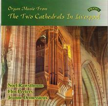 Organ Music from the Two Cathedrals in London - CD Audio