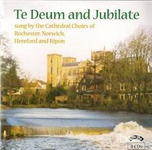 Te Deum and Jubilate - CD Audio