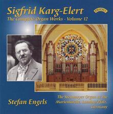 Musica per Organo vol.12 - CD Audio di Sigfrid Karg-Elert