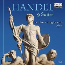 9 Suites - CD Audio di Georg Friedrich Händel