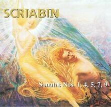 Sonate n.1, n.4, n.5, n.7, n.9 - CD Audio di Alexander Nikolayevich Scriabin,Hakon Austbo