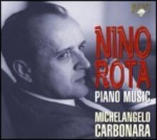 Musica per pianoforte - CD Audio di Nino Rota,Michelangelo Carbonara