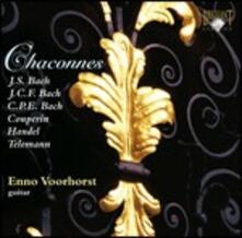 Chaconnes - CD Audio di Enno Voorhorst