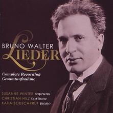 Lieder - CD Audio di Bruno Walter