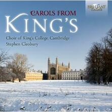 Carols from King's - CD Audio di Stephen Cleobury