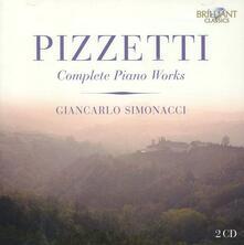 Musica per pianoforte completa - CD Audio di Ildebrando Pizzetti,Giancarlo Simonacci