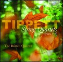 Quartetti per archi n.1, n.2, n.3, n.4 - CD Audio di Sir Michael Tippett,Britten String Quartet