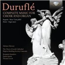 Opere per coro e organo - CD Audio di Maurice Duruflé
