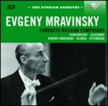 Evgeny Mravinsky Conducts Russian Composers - CD Audio di Evgeny Mravinsky