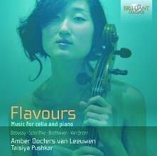 Flavours - Sonata in Re Minore per Violoncello e Pianoforte - CD Audio di Claude Debussy