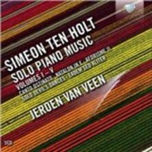 Opere per Pianoforte Solo, Voll.i-V - CD Audio di Simeon ten Holt
