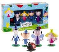 Giocattolo Ben & Holly. Ben & Holly Set 5 Personaggi Giochi Preziosi