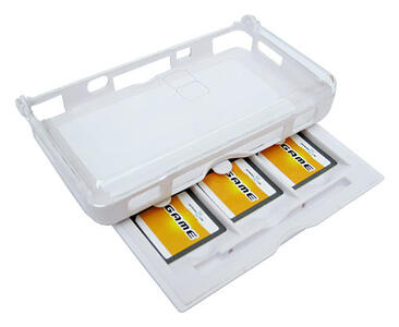 Mad Catz Storage Case for 3 Nintendo DS Cover Bianco