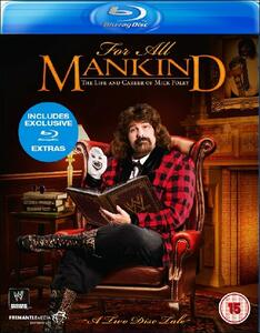 For All Mankind. The Life And Career Of Mick Foley (2 Blu-ray) - Blu-ray