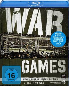 War Games Wcw's Most Notorious Matches (2 Blu-ray) - Blu-ray