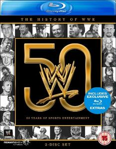 50 Years Of Sports Entertainment. The History Of Wwe (2 Blu-ray) - Blu-ray