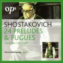 24 Preludi & Fughe - CD Audio di Dmitri Shostakovich