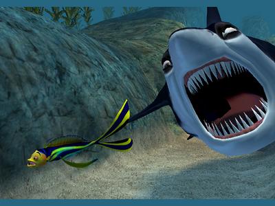 Videogioco Shark Tale Personal Computer 1