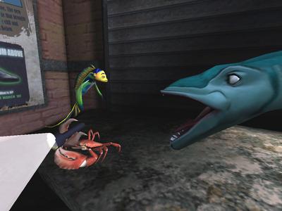 Videogioco Shark Tale Personal Computer 3