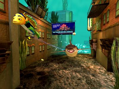 Videogioco Shark Tale Personal Computer 6