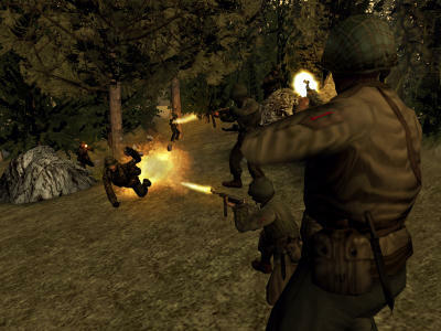 Call of Duty 2. Big Red One - 3