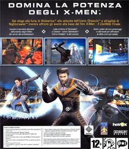 Videogioco X-Men: Il gioco ufficiale Personal Computer 1