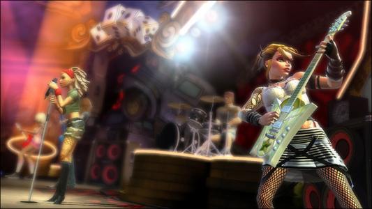 Videogioco Guitar Hero: Aerosmith Nintendo WII 4