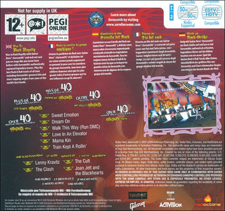 Videogioco Guitar Hero: Aerosmith Nintendo WII 7
