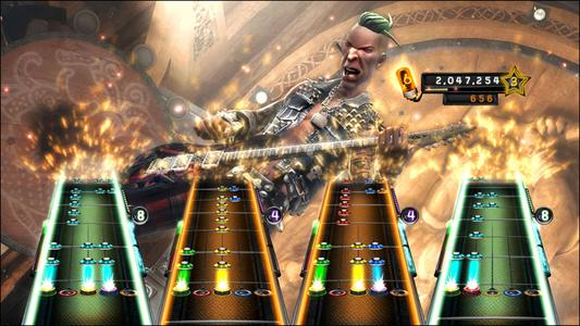 Videogioco Guitar Hero 5 (solo gioco) Xbox 360 1