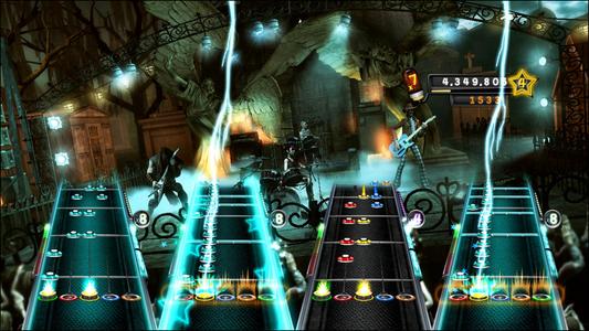 Videogioco Guitar Hero 5 (solo gioco) Xbox 360 4