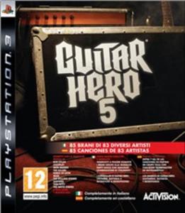 Videogioco Guitar Hero 5 (solo gioco) PlayStation3 0