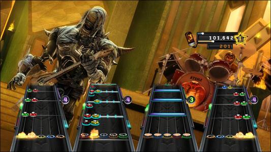 Guitar Hero. Warriors of Rock - 4