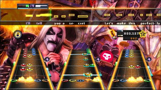 Videogioco Guitar Hero: Warriors of Rock PlayStation3 8