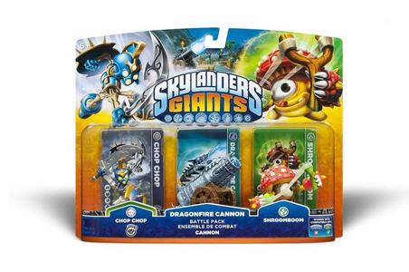 Videogioco Skylanders Giants Battle Pack Cannon Nintendo 3DS