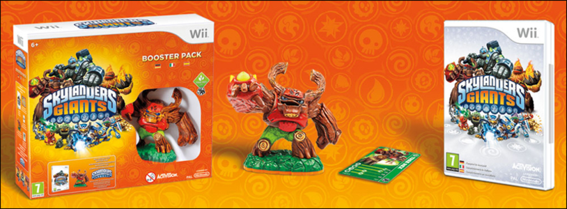 Videogioco Skylanders Giants Espansion Pack Nintendo WII 9