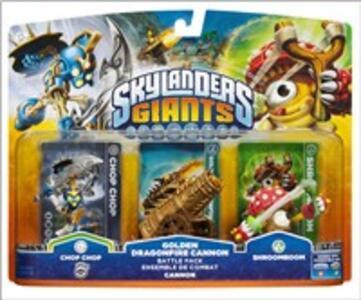 Skylanders Giants Battle Pack Golden Cannon