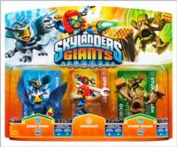 Videogioco Skylanders Sprocket + S.Boom+ StumpSmash (Giants) PlayStation3
