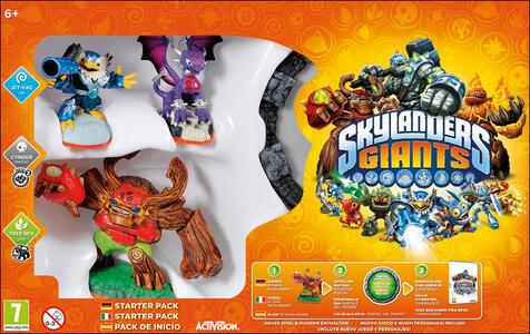 Skylanders Giants Starter Pack - 10