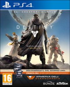 Videogioco Destiny Vanguard Edition PlayStation4 0
