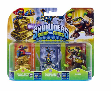 Videogioco Skylanders Triple Pack D (SF) PlayStation3