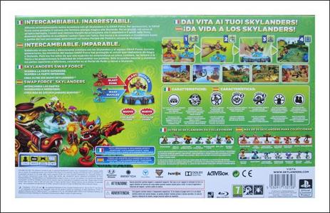 Videogioco Skylanders Swap Force Starter Pack PlayStation3 10