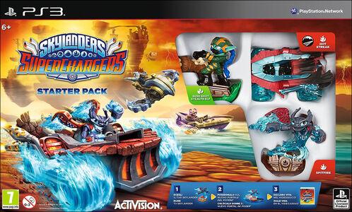 Videogioco Skylanders SuperChargers Starter Pack PlayStation3 0