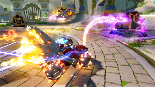 Videogioco Skylanders SuperChargers Starter Pack PlayStation3 2